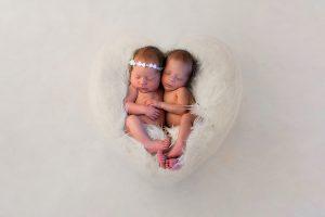 Zwillinge Baby Fotograf in Bergheim Fotostudio