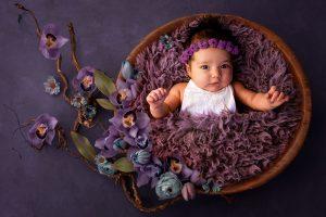 Babyfotos Neugeborenefotos in Fotostudio Bergheim